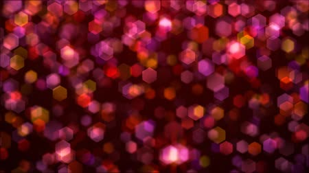 doted : raining sequins Stock Footage