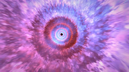estouro : Camera go through cloud effect energy fantasy full color with target is black hole include alpha PNG format.