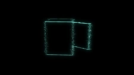 оказывать : Safe in Hologram wireframe style. Nice 3D rendering