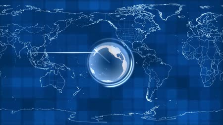 entire : around earth Stock Footage