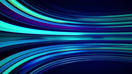 радар : Blue colorful abstract background with animation moving of lines for fiber optic network. Magic flickering glowing flying lines. Animation of seamless loop. Bright thick stripes flying.