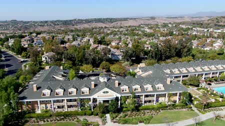 양산 : Aerial view of master-planned community and census-designated Ladera Ranch, South Orange County, California. Large-scale residential neighborhood