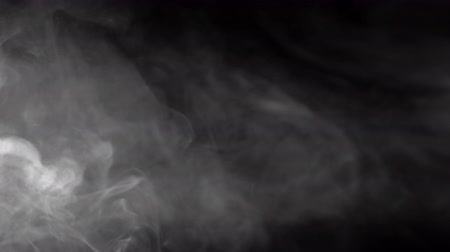 incienso : Smokes clouds background, abstract smoke in slow motion, misty texture Archivo de Video