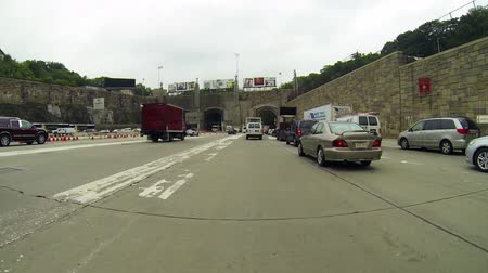 Lincoln Tunnel Entrance HD Wideo
