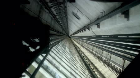glass structure : Modern Elevator Shaft III