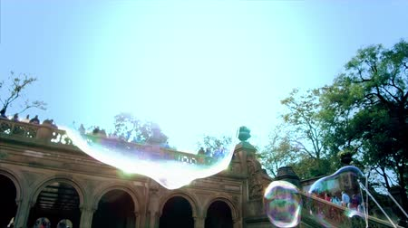 Big Soap Bubble Slow Motion 4K