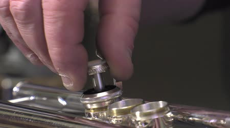 trombeta : Placing and testing of a piston from trumpet