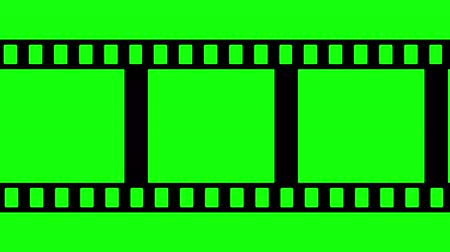tiras : Film Strip Black and White Video Footage Stock Footage