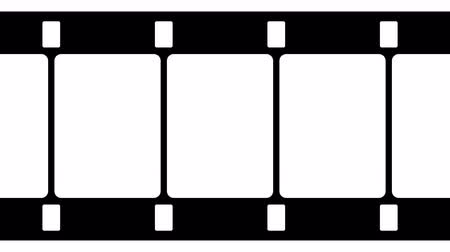 photography themes : 16mm Film Strip Black and White Video Footage