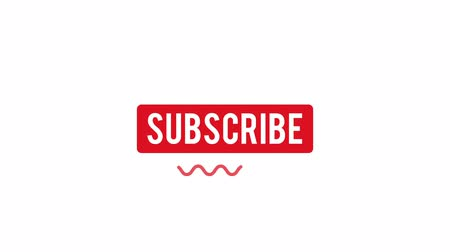 кнопка : Cool flat subscribe button