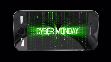 product promo : Cyber monday sale motion background Stock Footage