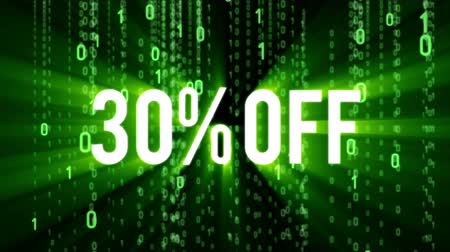 monção : Cyber monday sale motion background Stock Footage