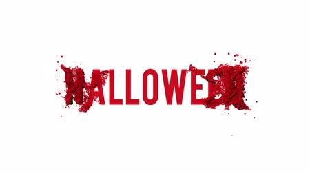 promover : Halloween motion poster, banner text. Available in FullHD video render footage