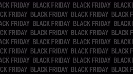 kinetik : Black Friday Sale with many words. Motion Animation. Video available in 4K FullHD and HD render footage