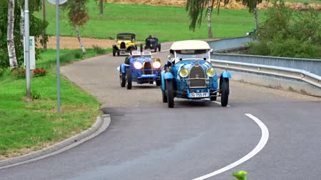 редакционный : Editorial,12 September 2015: France: XXXIIeme Festival Enthousiastes Bugatti in Molsheim. Vintage car.