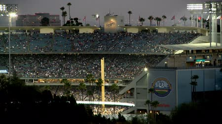 beisebol : Dodger stadium in Los Angeles, California