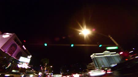 showbiz : Go shot strip night Stock Footage
