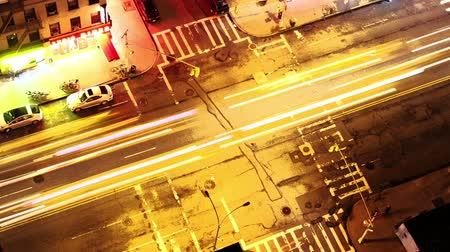 Бродвей : New York city intersection lights