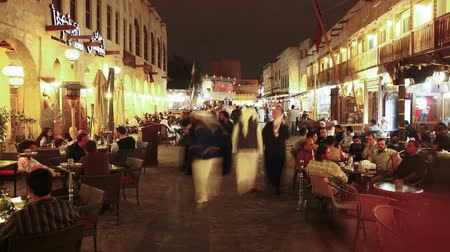 vystavený : Qatar middle East Arabian peninsula Doha the restored Souq Waqif
