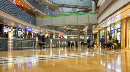 pudong : Shoppers inside a new modern store in Pudong district Shanghai China Asia Stock Footage