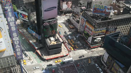 Times Square daytime timelapse