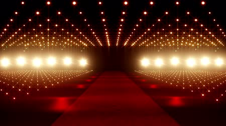 light : Red Carpet festival scene animation