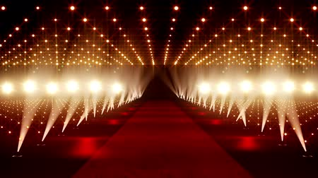 halı : Red Carpet festival scene animation