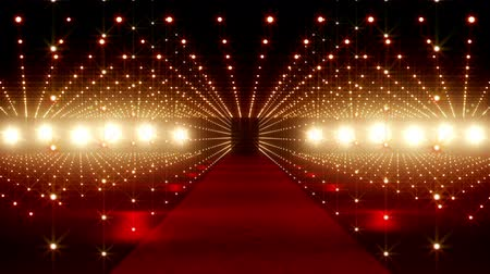 entrance : Red Carpet festival scene animation