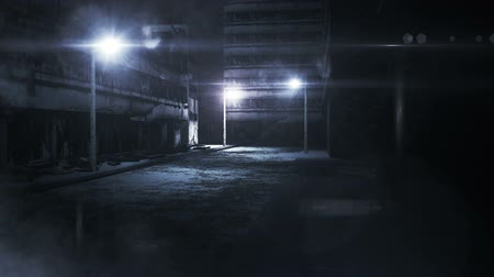 uliczki : Scary Alley realistic 3D animation