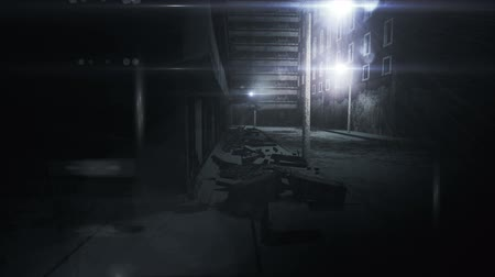 uliczka : Scary Alley realistic 3D animation