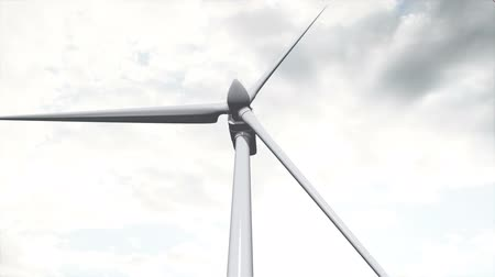 eko : Wind Turbine Timelapse   Realistic 3D render composited with real clouds timelapse