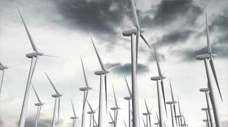 türbin : Wind Turbine Timelapse   Realistic 3D render composited with real clouds timelapse