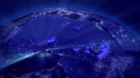 alienígena : Earth from Space Lightstreaks over Africa Vídeos