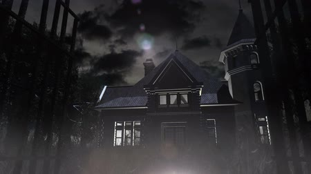 dia das bruxas : Scary House 3D animation Vídeos