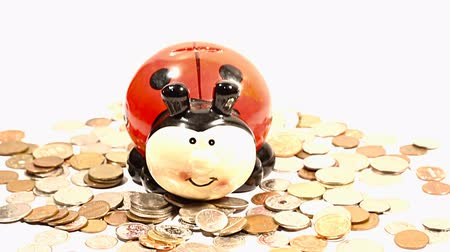 экономить : Ladybug Money Box and Coins TILTs