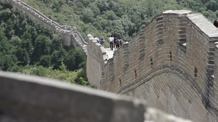 great wall of china : Great Wall of China near Beijing  Neutral high dynamic color range shot - giving full potential for post-production color grading and stylizing  Professional DOLLY shot