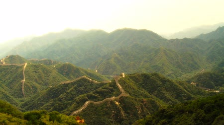 great wall of china : Great Wall of China near Beijing  Nicely graded artsoft diffusion stlye.