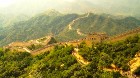 zeď : Great Wall of China near Beijing  Nicely graded artsoft diffusion stlye.