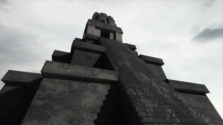 güney : Maya Pyramid Clouds Timelapse  Realistic 3D render Maya Pyramid composited with real clouds timelapse.