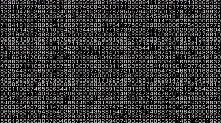 połączenie : Numbers in decimal numerical system random calculations.Unique design.
