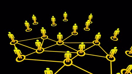 hiç kimse : Network Connections animation.