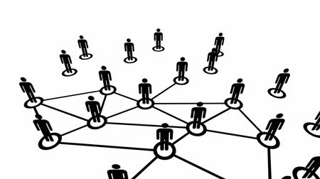 relação : Network Connections animation.