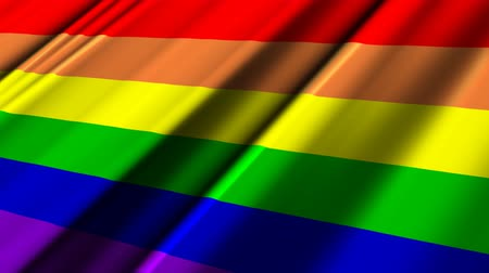 homoszexuális : Rainbow Gay Flag.