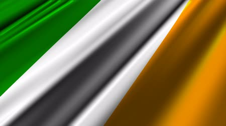 irlandia : Flag of Ireland.