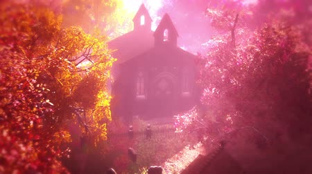 mystik : Cemetery Autumn 3D artwork