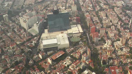 meksyk : Mexico City Aerial Wideo