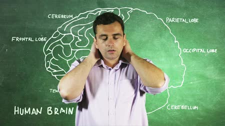 dalgalanan : Young Man Headache Brain