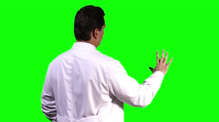 cimborák : Young Scientist Back Touchscreen Greenscreen
