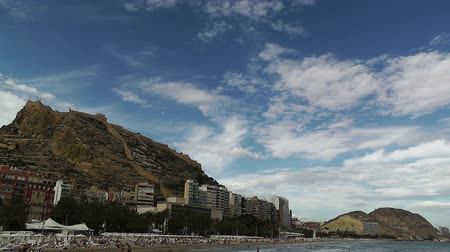 kopec : Alicante Spain beach and Santa Barbara hill