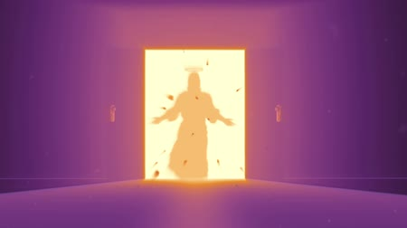 дух : Mysterious Door to Heaven | New Opportunity - Jesus Christ shape appear